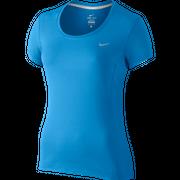 Nike Dri-FIT Contour Short Sleeve Top  Womens