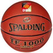 Spalding 3001504010217 TF1000 Legacy DBB Fiba Ballon de basket ball 74 589z Orange Taille 7 2017