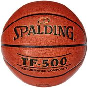 Spalding 30015030102 TF 500 DBB Ballon de basket Orange orange 7 2017 Sélection couleur - Orange - Orange