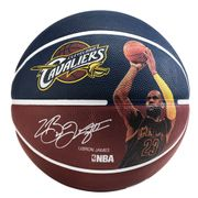 Spalding Nba Player Lebron James (7) Bleu Ballons Basketball