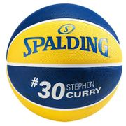 Spalding Nba Player Stephen Curry (7) Jaune Ballons Basketball