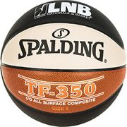 Spalding Lnb TF350 Ballon de Basket Ball Mixte Adulte Noir/Orange/Blanc Taille 7 2017 Sélection couleur - Noir/Orange/Blanc
