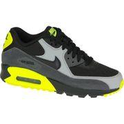 pretty nice 4067a c491a Nike Air Max 90 Gs 724824-002 U Baskets Noir,Gris