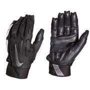 Gant de Football Américain Nike D-Tack 6.0 Noir pour Linemen taille - L