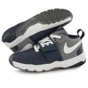 Nike Team Hustle 8 bleu, chaussures de basketball enfant
