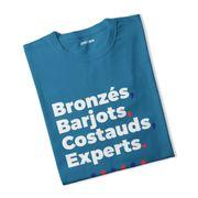 T-shirt fille Bronzés Barjots...