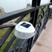 Lampe solaire HD YK6418 IP55 Étanche LED à Lumière Blanche de la Lumière Solaire, 9 Led SMD 2835 Économie d'Énergie de