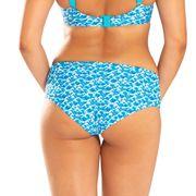 Bas de maillot de bain Shorty Curvy Kate Riptide Retro Bleu