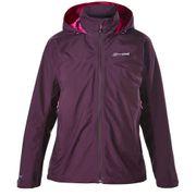 Berghaus Womens Thunder Gore-Tex Waterproof Breathable Coat Purple