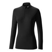 Mizuno Tee-Shirt Breath Thermo Mid weight Solid 1/2 Zip Lady