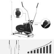 Vélo Elliptique 2 en 1 Adulte Ordinateur LCD SY-9000