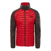 Veste The North Face ThermoBall PrimaLoft Sport rouge marron foncé