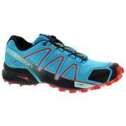 SALOMON Speedcross 4 F Bleu Rouge