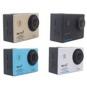 Caméra de sport- HF60 UHD 4K WiFi 16.0 MP Caméra de Sport avec Boîtier Étanche, Generalplus 4247, de 2,0 pouces Écran LCD, de 120 Degrés