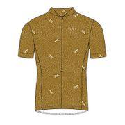 MALOJA LibellaM. AOP 1/2 Short Sleeve Bike Jersey sesame