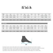 Chaussures Fizik R4M Carbon BOA bleues noires
