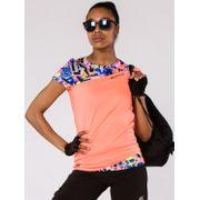 T-shirt Running Lora Neon Corail