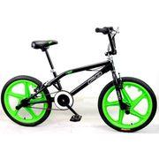 VELO BMX MERCIER Vélo BMX Freestyle 20' 4 Pegs - Noir et vert