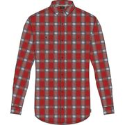 Hurley M Dri-Fit Syd Woven L/S University Red XXL