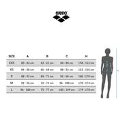 Maillot de bain de compétition Arena Powerskin Carbon-Flex VX Full Body Short Leg Open Back gris foncé femme