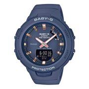 Montre Casio Baby-G Bluetooth + Step Tracker bleu foncé