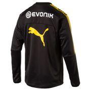 2017-2018 Borussia Dortmund Puma Training Sweat Top (noir) - Kids