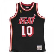 Maillot NBA swingman Tim Hardaway Miami Heat 1996-97 Hardwood Classics Mitchell & ness Noir taille - S