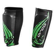 Guêtres Orca Swimrun Calf Guards noir vert