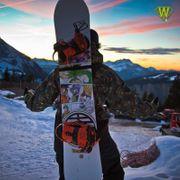 Porte snow-board SURFBACK adulte