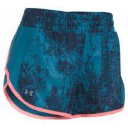 Under Armour - Launch Printed Tulip short de running pour femmes (bleu) 5452fc5ea3d