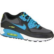 Nike Air Max 90  Gs 724824-004 U Baskets Noir,Bleu