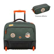 Cartable à roulettes Delsey School 2018 Sac a dos Trolley WPS horizontal