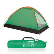 TENTE DE CAMPING  Tente mixte Igloo - BESTWAY - Monedome 68040 - Monedome 68040 - Bleu - 205x145x100cm - Toutes saisons - Camping
