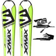 SALOMON X-Max Jr Ski + Ezy5 B80 Fixations Bébé Garçon