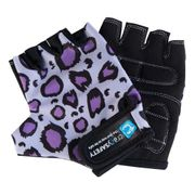 Gants Crazy Safety Purple Leopard enfant