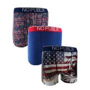 No Publik - Lot De 3 Boxers Microfibre Homme Statue Of Liberty