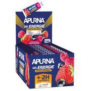 Lot de 25 gels Apurna Energie fruits rouges - 35g