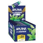 Lot de 25 gels Apurna Energie Menthe Fraîche - 35g