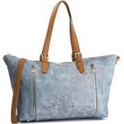 sac à main bleu femme desigual