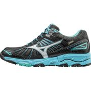 Mizuno - Wave Mujin 3 GTX® chaussures de running pour femmes (gris foncé/bleu clair)