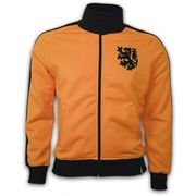 Holland 1970's Retro Veste polyester / cotton (Orange)