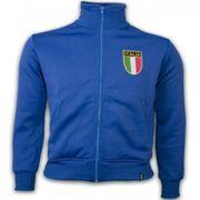 Italy 1970's Retro Veste polyester / cotton
