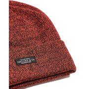 Bonnet coloré rouge chiné