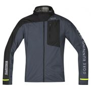 GORE RUNNING WEAR® - Fusion Coupe vent® Active Shell Hommes veste de course (anthracite)