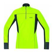 GORE RUNNING WEAR® - Mythos 2.0 Thermo Manche longue Hommes chemise de course (jaune)