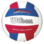 Ballon Beach-Volley Wilson Super Soft Play Bleu