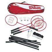 Wilson Unisex Badminton Set 4 Pcs 3 Badmintonschläger Sélection taille - 66,5 x 10 x 3 cm ; 1,14 Kg