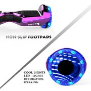 Hoverboard Colorway CX911 - Bluetooth + APP - 6.5 Pouces Rose, Gyropode Overboard Smart Scooter certifié