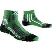 X-Socks chaussette en cours d'exécution Vitesse de course Deux Vert - X020432-E037