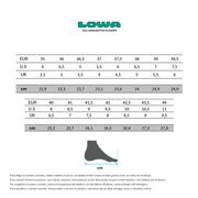 Chaussures de marche Lowa Renegade GTX Mid vert marron femme